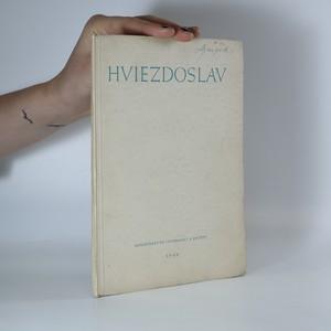 náhled knihy - Hviezdoslav. Výbor z jeho příležitostných básní, vydaný k 100. výročí narození