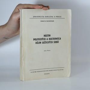 náhled knihy - Nástin politických a kulturních dějin Lužických  Srbů