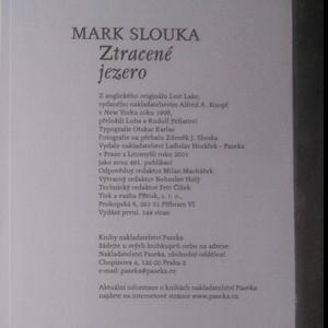 antikvární kniha Ztracené jezero, 2001