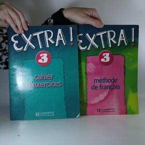 náhled knihy - Extra! 3. Cahier d'exercices + Méthode de français (2 svazky, viz foto)