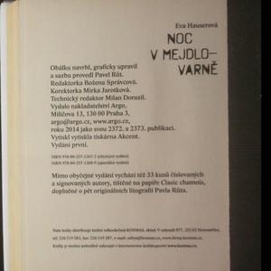 antikvární kniha Noc v Mejdlovarně, 2014