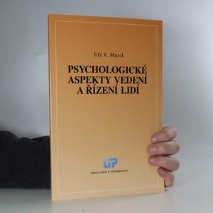 náhled knihy - Psychologické aspekty vedení a řízení lidí