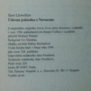 antikvární kniha Úderná jednotka z Navarone, 1999