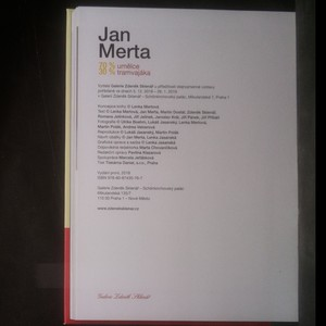 antikvární kniha Jan Merta 70 % umělce, 30 % tramvajáka, 2018