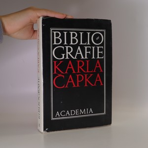 náhled knihy - Bibliografie Karla Čapka