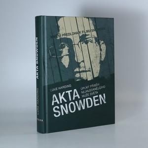 náhled knihy - Akta Snowden. Úplný příběh nejhledanějšího muže světa