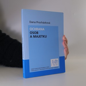 náhled knihy - Ochrana osob a majetku