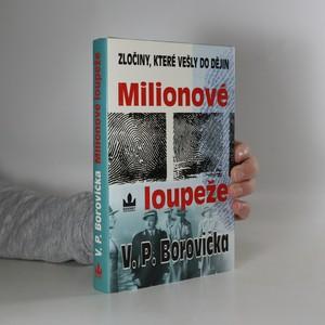 náhled knihy - Milionové loupeže