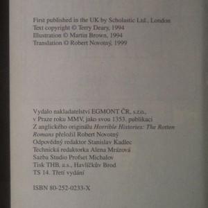 antikvární kniha Prohnilí Římané, 2005