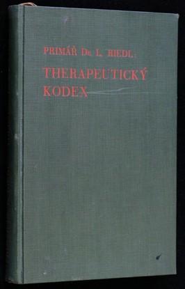 náhled knihy - Therapeutický kodex