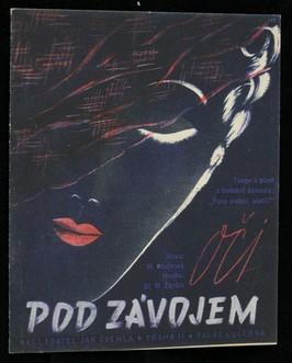 náhled knihy - Oči pod závojem : tango a píseň z hudební komedie