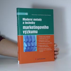 náhled knihy - Moderní metody a techniky marketingového výzkumu