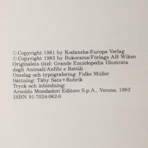antikvární kniha KRÄL- OCH GRODDJUR, 1983