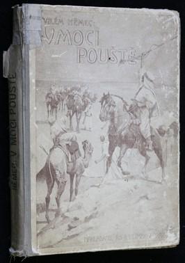 náhled knihy - V moci pouště : Kniha lovů a dobrodružství