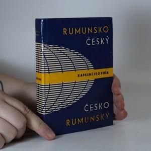 náhled knihy - Rumunsko-český, česko-rumunský kapesní slovník