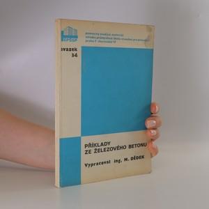 náhled knihy - Příklady ze železového betonu