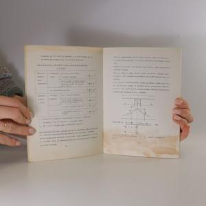 antikvární kniha Výpočet železobetonových konstrukcí, 1969