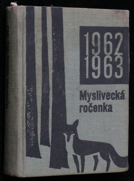 náhled knihy - Myslivecká ročenka 1962-63