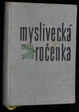 náhled knihy - Myslivecká ročenka 1960