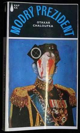náhled knihy - Modrý prezident