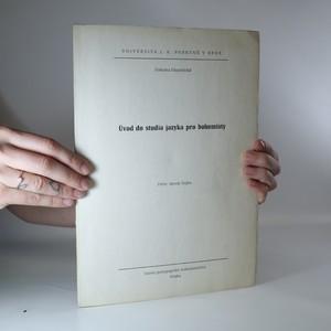 náhled knihy - Úvod do studia jazyka pro bohemisty