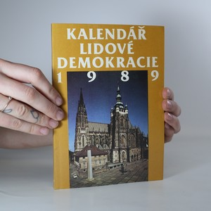 náhled knihy - Kalendář Lidové demokracie 1989