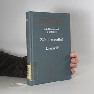 náhled knihy - Zákon o rodině : komentář