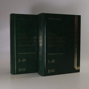 náhled knihy - Právo kapitálových obchodních společností - Přehled judikatury s komentářem 1. + 2.