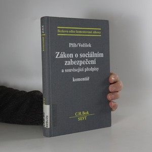 náhled knihy - Zákon o sociálním zabezpečení a související předpisy : Komentář