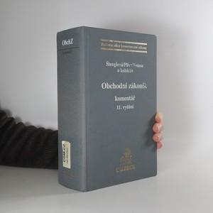 náhled knihy - Obchodní zákoník : komentář : 11. vydání