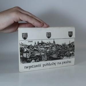 náhled knihy - Nejstarší pohledy na Prahu (z původních 12 jen 9 pohlednic)
