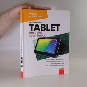 náhled knihy - Tablet pro úplné začátečníky