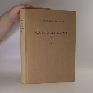 náhled knihy - Nauka o materiálu II. Svazek 1.