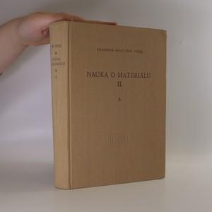 náhled knihy - Nauka o materiálu II. Svazek 2.