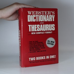 náhled knihy - Webster's Dictionary and Thesaurus