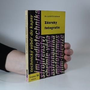 náhled knihy - Zázraky fotografie