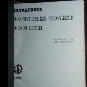 antikvární kniha Ultraphone. Language Course. English., 1939