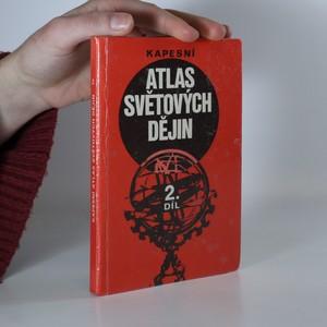 náhled knihy - Kapesní atlas světových dějin. 2. díl