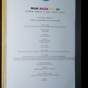 antikvární kniha Nový ráj. Výběr prací z let 1952-1995., 1996