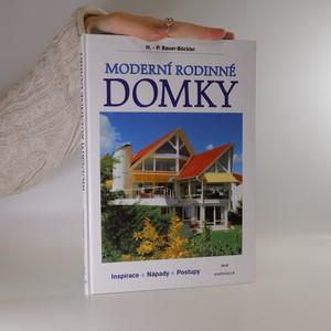 náhled knihy - Moderní rodinné domky