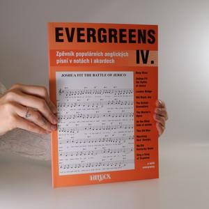 náhled knihy - Evergreens zpěvník populárních anglických písní v notách i akordech IV.
