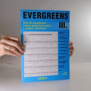 náhled knihy - Evergreens zpěvník populárních (nejen) anglických písní v notách i akordech III.
