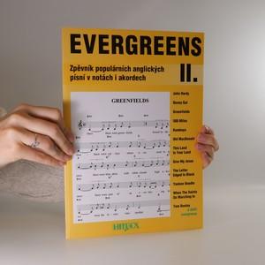 náhled knihy - Evergreens zpěvník populárních anglických písní v notách i akordech II.