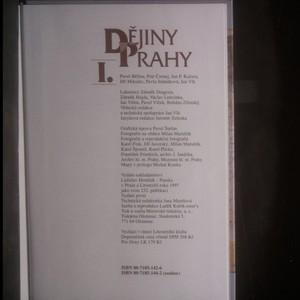 antikvární kniha Dějiny Prahy I., 1997