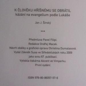 antikvární kniha K člověku hříšnému se obrátil, 2009