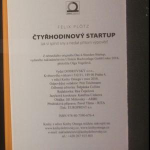 antikvární kniha Čtyřhodinový startup : jak si splnit sny a nedat přitom výpověď, 2018