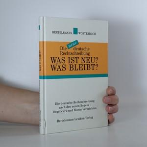 náhled knihy - Was ist neu? Was bleibt?