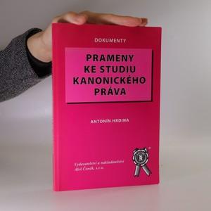náhled knihy - Prameny ke studiu kanonického práva