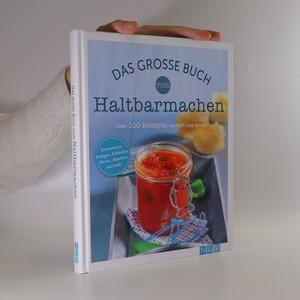 náhled knihy - Das große Buch vom Haltbarmachen