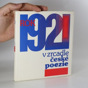 náhled knihy - Rok 1921 v zrcadle české poezie